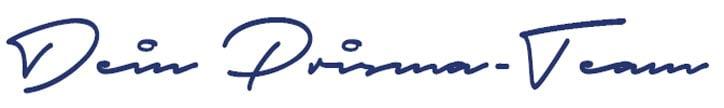 Prisma Unterschrift - Teile Deine Meinung