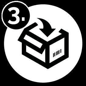 prisma retoure step 3 number - Retoure
