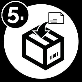 prisma retoure step 5 number - Retoure