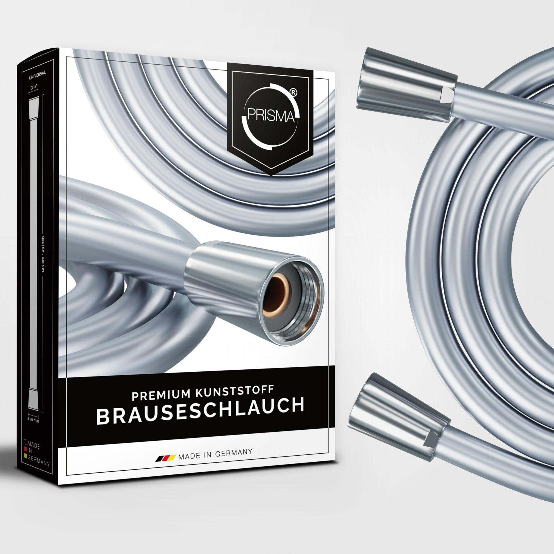 3964 Product - PRISMA Brauseschlauch aus Kunststoff • Made In Germany