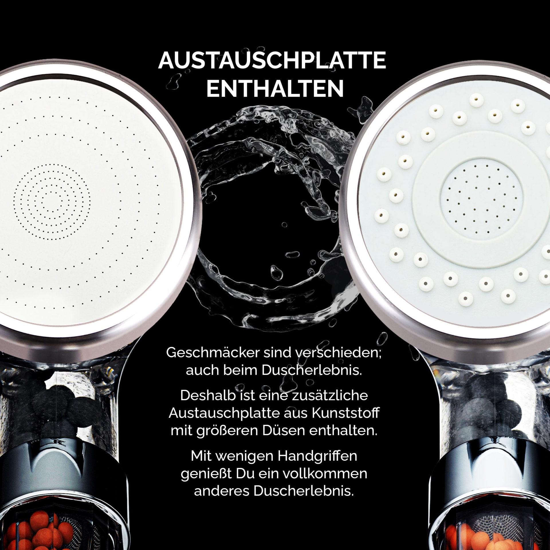 3996 Product - PRISMA Premium Duschkopf für ein einzigartiges Duscherlebnis