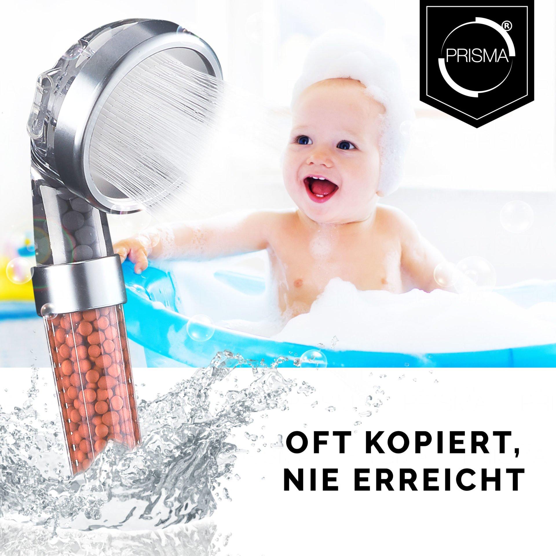 3998 Product - PRISMA Premium Duschkopf für ein einzigartiges Duscherlebnis
