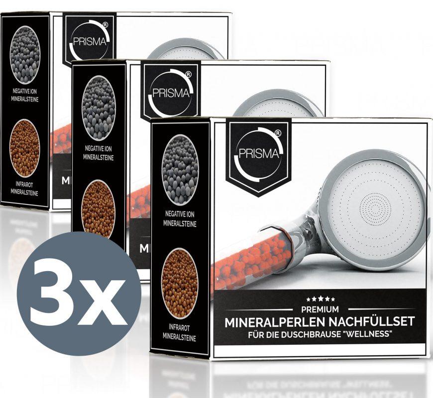 PRISMA Mineralsteine 3x - PRISMA Mineralperlen Nachfüllset